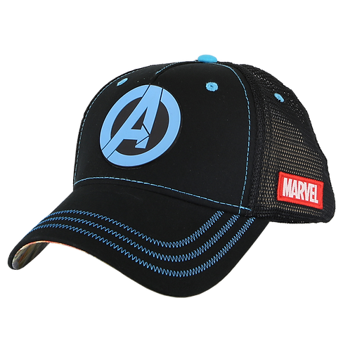 Marvel Avengers Logo Baseball Cap Mesh Crown