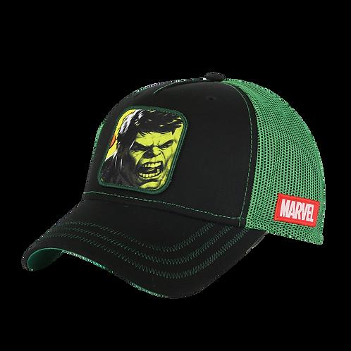 Marvel Avengers Hulk Trucker Cap Mesh Crown