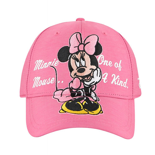 Disney Minnie Mouse Baseball Cap with Embroidered Logos