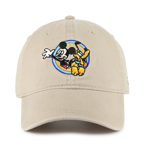 Disney Mickey Mouse & Pluto Kids Baseball Cap with Embroidered Logos