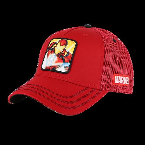 Marvel Avengers Iron Man Trucker Cap Mesh Crown