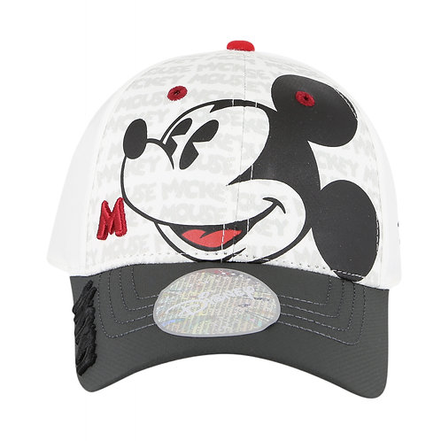 Disney Mickey Mouse Heritage Baseball Cap with Embroidered Logo