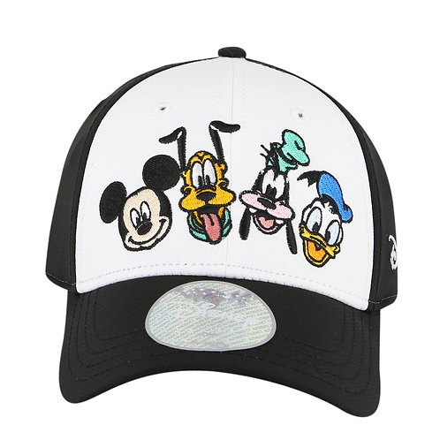 Disney Mickey Mouse & Friends Baseball Cap with Embroidered Logo