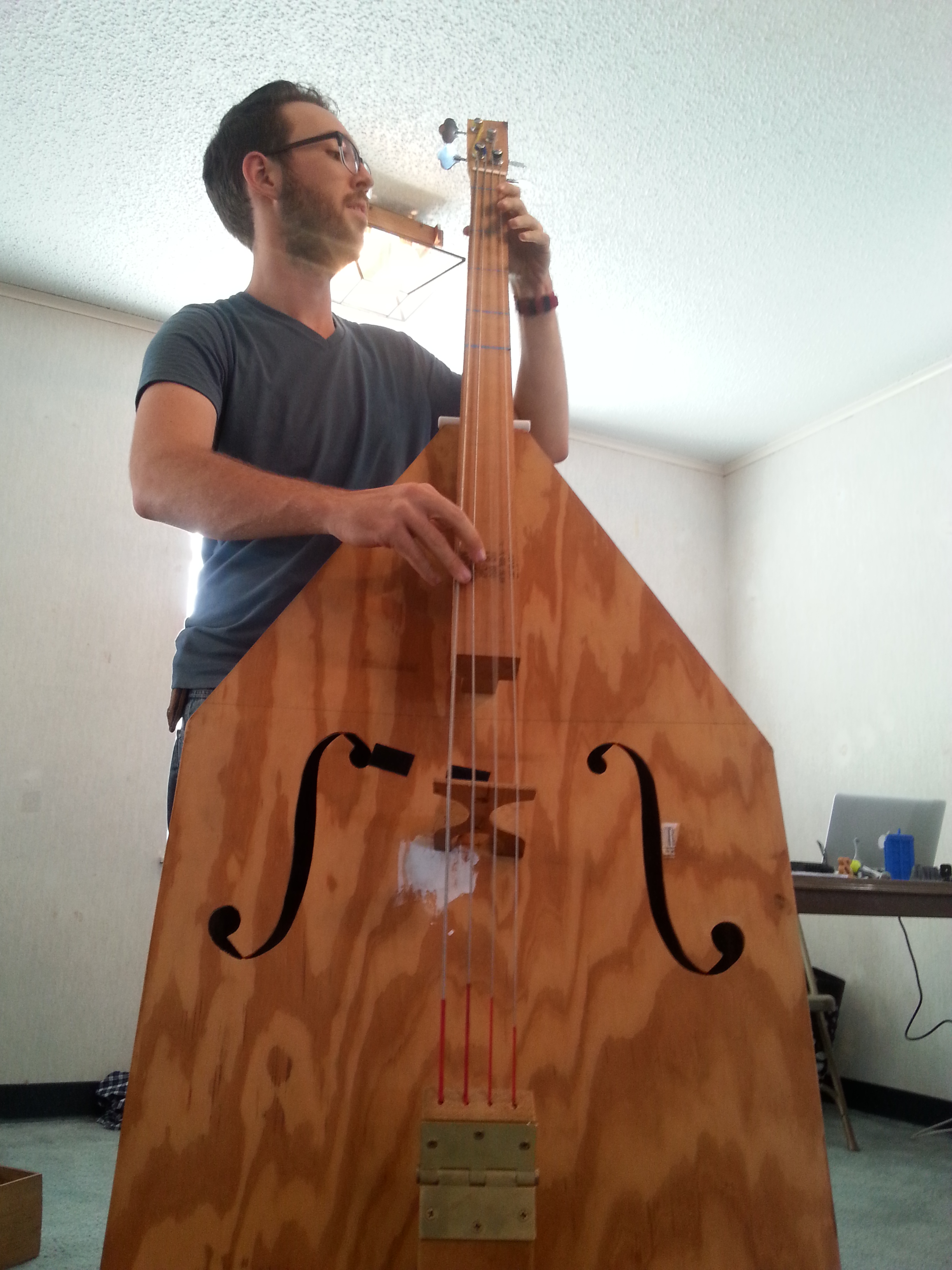 Homemade stand up bass