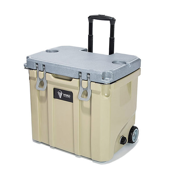 Oregonain HYAD Cooler box  (With wheels) 37QT <cappuccino>
