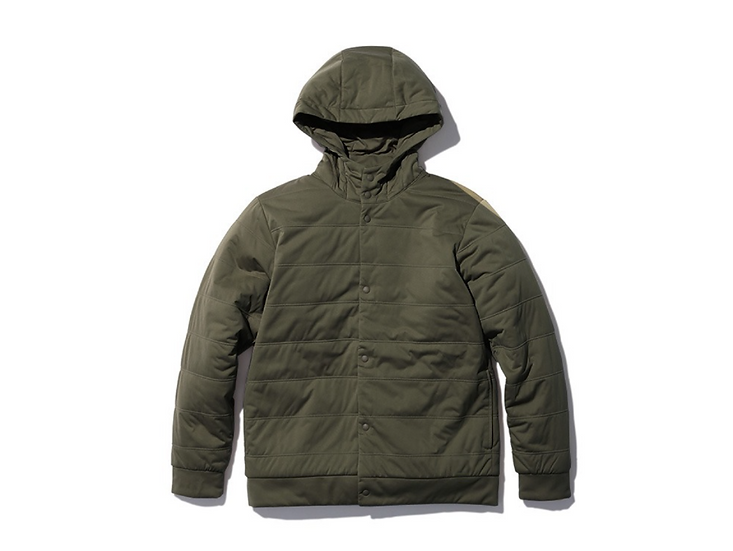 Flexible Insulated Parka Mossgreen