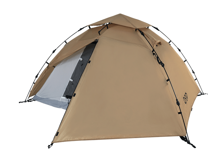 DoD Rider's one touch tent TAN