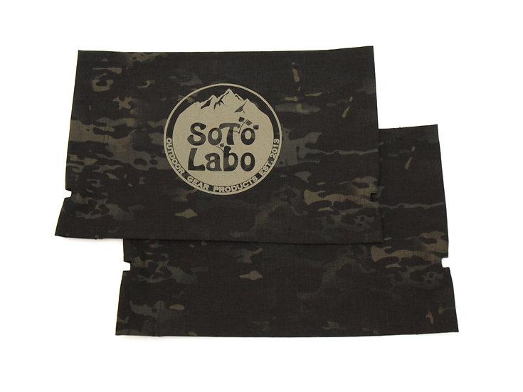 SoToLaBo® Custom KermitChair Fabric - Multicam Black