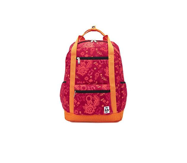 CHUMS SquareDayPack/RedGarden 22L
