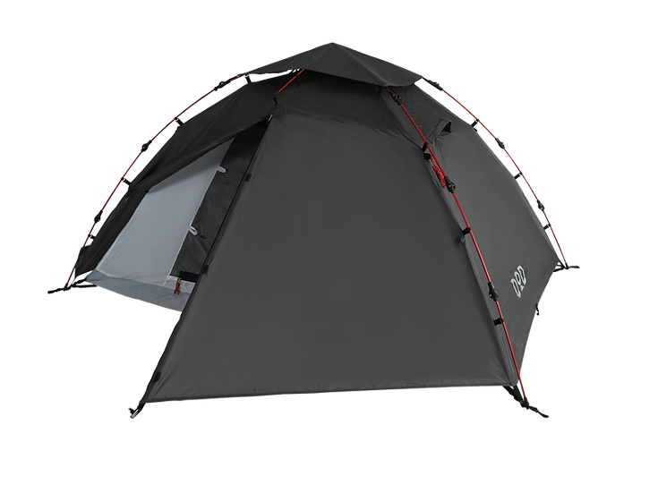 DoD Rider's one touch tent Gray