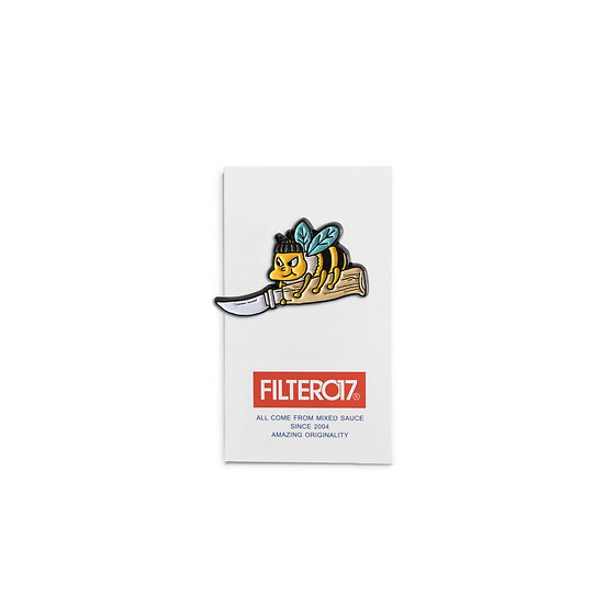 Filter017 Stay Wild Series Lapel Pin - big Sting