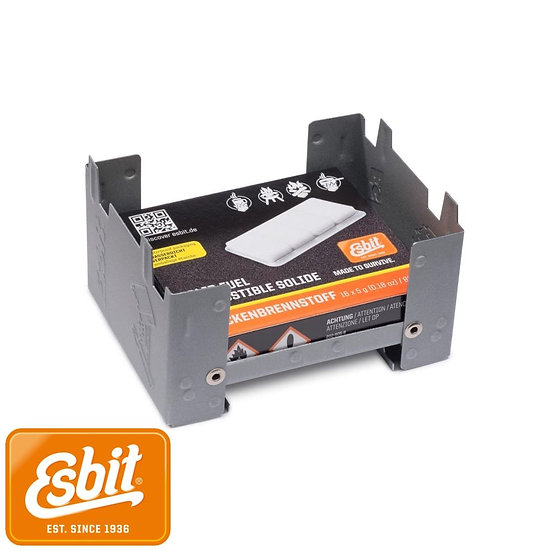 Esbit pocket stove small 16x5g