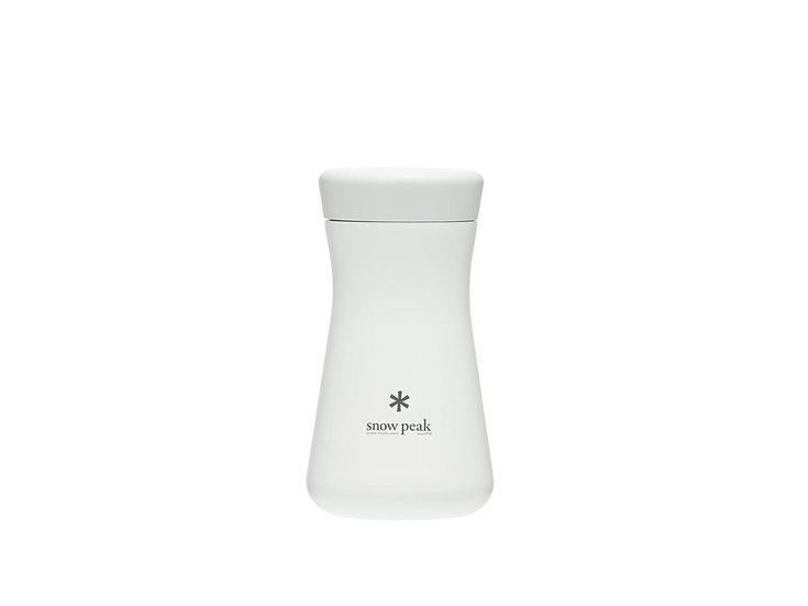 Stainless Vacuum Bottle TSUZUMI 350 White