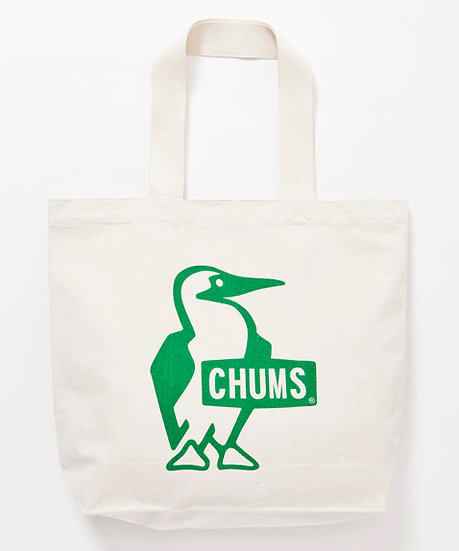 Chums Booby Canvas Tote/Green