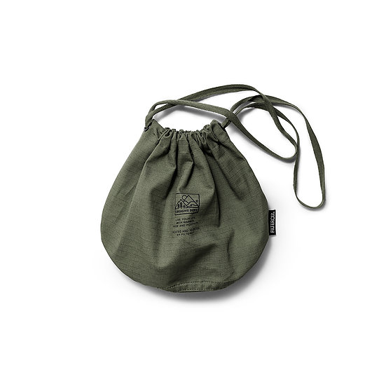 Mountain Peak Logo Ripstop Drawstring Small