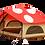 Thumbnail: DoD KINOKO TENT RED キノコテント