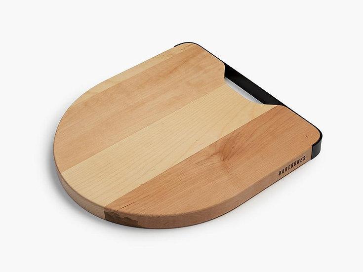 Maple & Steel Cutting Board