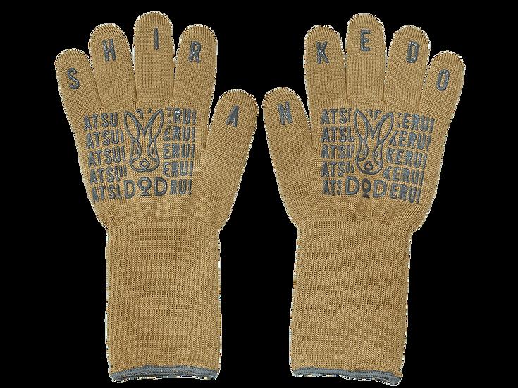 DoD Camp Glove Tan สีแทน ATSUI-NO-IKERU SHIRANKEDO
