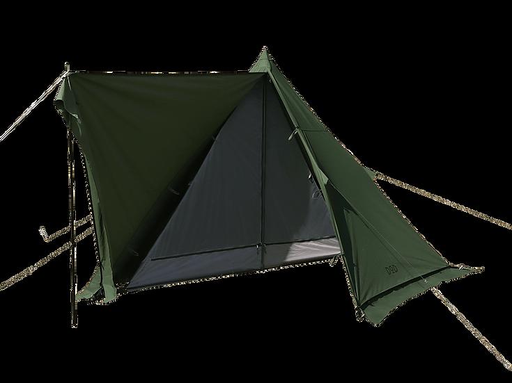"""DoD """" MUSHA """" One Pole Tent Khaki"""