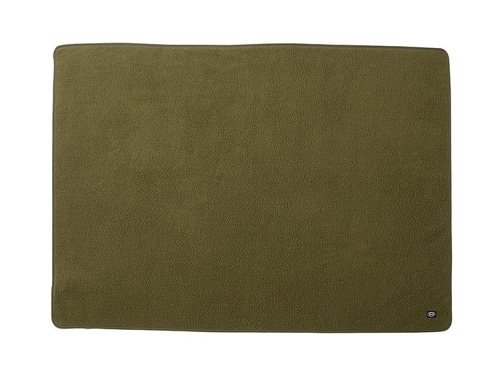 Thermal Boa Fleece Blanket One Olive