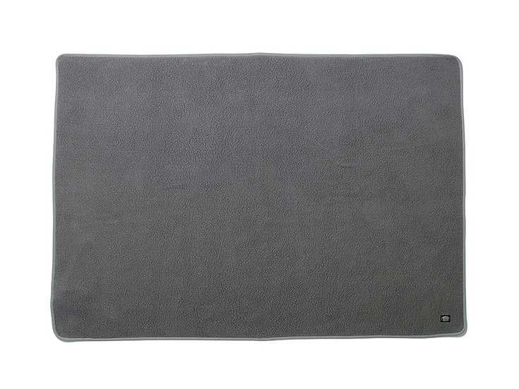 Thermal Boa Fleece Blanket One Gray