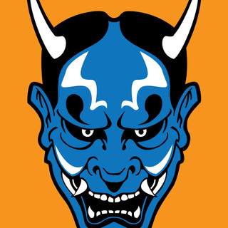 Samurai - Blue