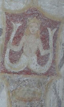 Sirena con coda bifida