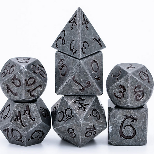 Shadow Dragon Metal Dice Set