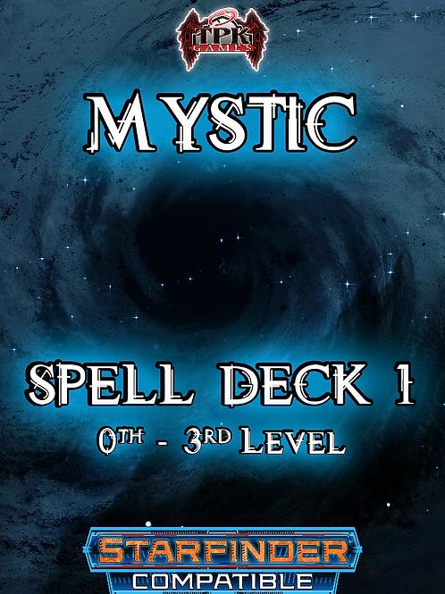 Mystic Spell Deck I (Starfinder Compatible)