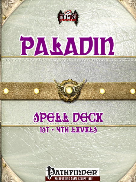 Paladin Spell Deck [Pathfinder]