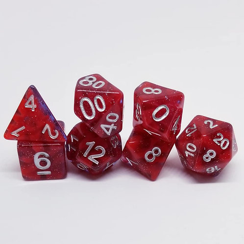 Wyrmblood 7 Die Set Polyhedral Dice