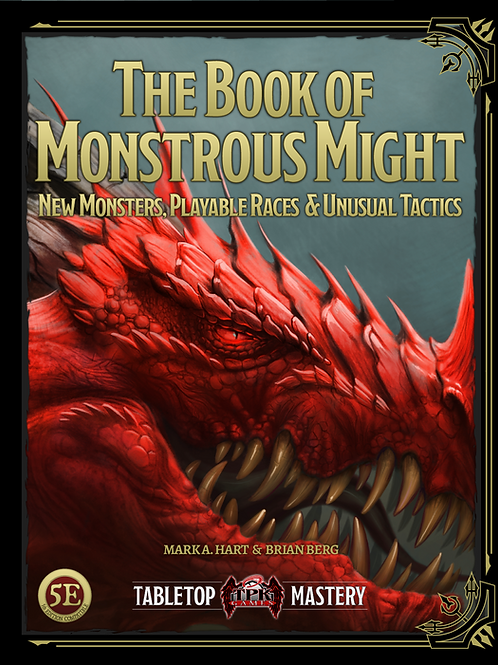 Book of Monstrous Might - Digital Preorder