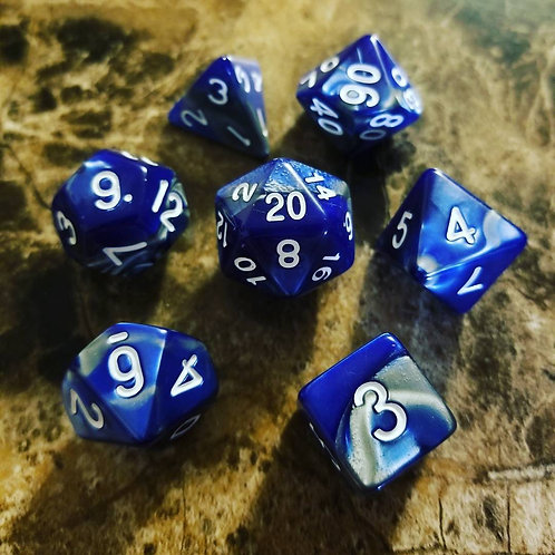 Cold Iron Dice Set