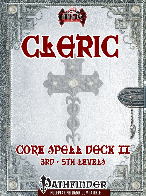 Cleric Core Spell Deck II [3rd - 5th]