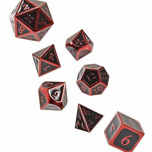 Demon Spawn Metal 7 Dice Set