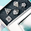 Thumbnail: Shadow Dragon Metal Dice Set
