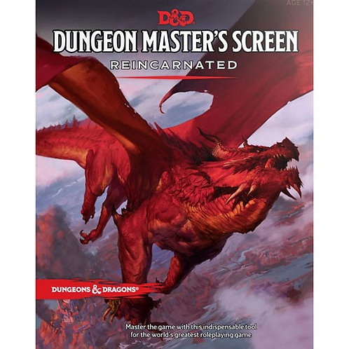 Dungeon Master's Screen - Reincarnated (D&D)