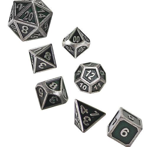 Dusk Ranger - Metal 7 Dice Set