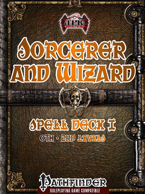 Sorcerer/Wizard Spell Deck I [PF]