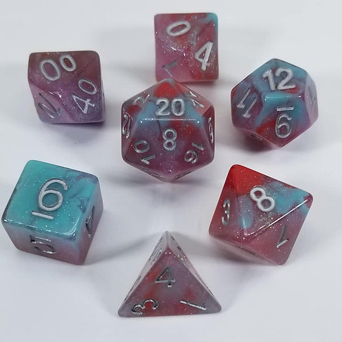 Blood Ooze Dice Set