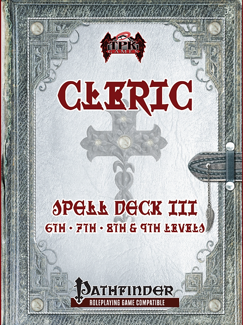 Cleric Core Spell Deck III [6th - 9th]