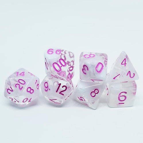 Angel's Breath 7 die set polyhedral dice