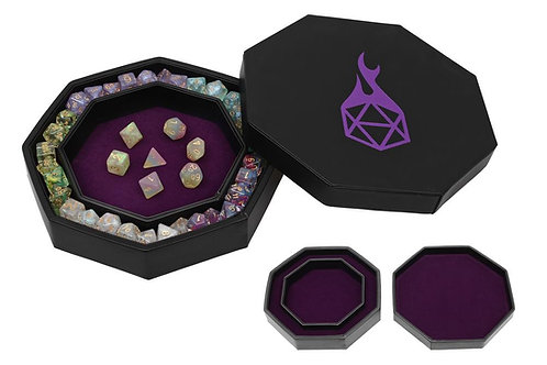 Purple Arena Dice Tray and Storage