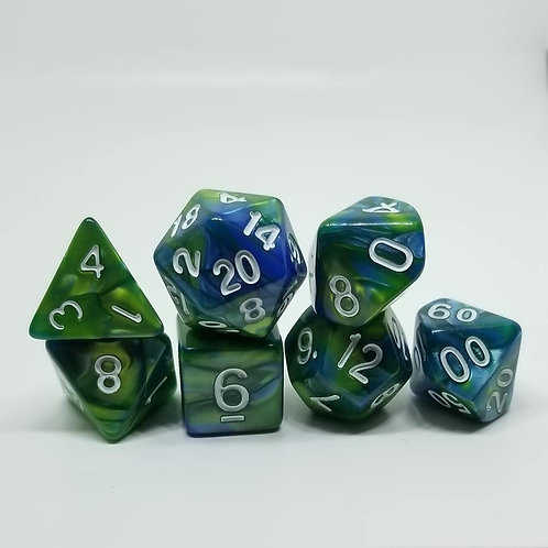 Gaia's Embrace Polyhedral 7-Die Dice Set