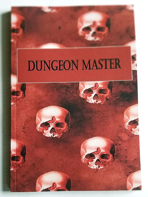 Dungeon Master Journal (DnD, Dungeons and Dragons, Pathfinder, RPG)