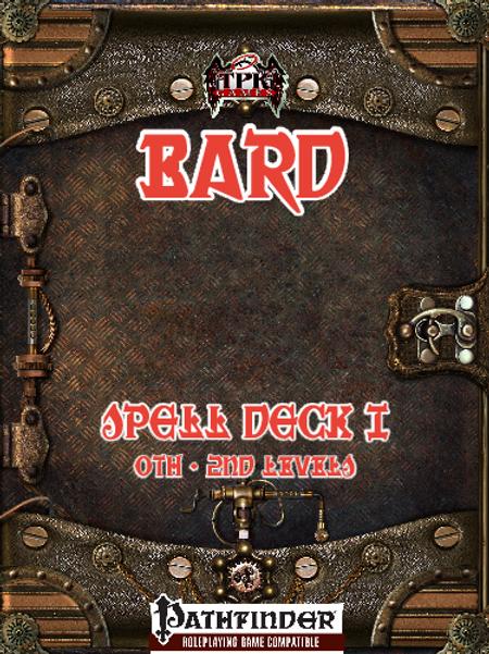 Bard Spell Deck I [Pathfinder]