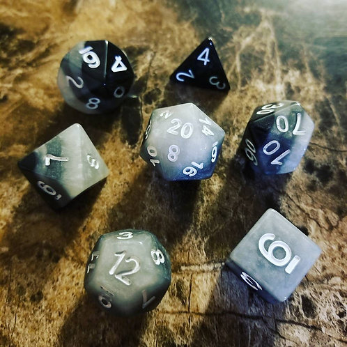 Midnight Smoke Dice Set