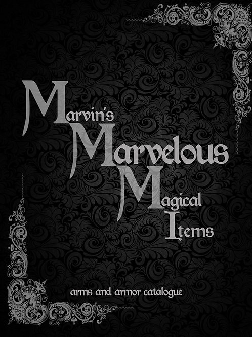 Marvin's Marvelous Magic Arms & Armor