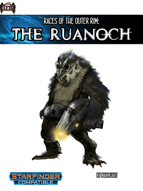 Races of the Outer Rim:the Ruanoch