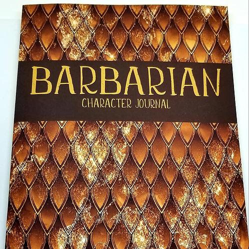 Barbarian Class Character Journal